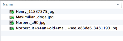 Prefix uploaded files with name of the uploader