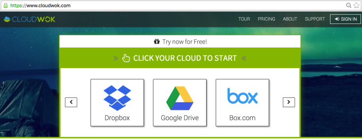 Cloud Storage Selection